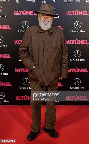 Director Jose Luis Cuerda attends 'Los del Tunel' premiere at Capitol cinema on January 18 2017 in Madrid Spain