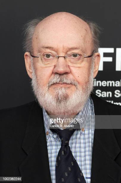 Director Jose Luis Cuerda attends the 66th edition of San Sebastian International Film Festival presentation at Academia de Cine on July 20 2018 in...