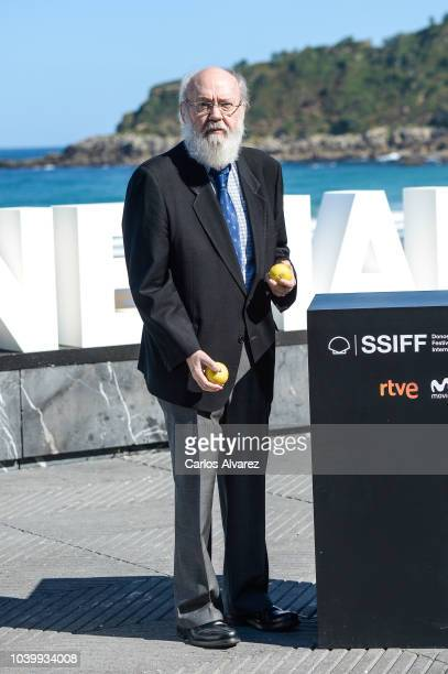 Director Jose Luis Cuerda attends the 'Tiempo Despues' photocall during the 66th San Sebastian International Film Festival on September 25 2018 in...