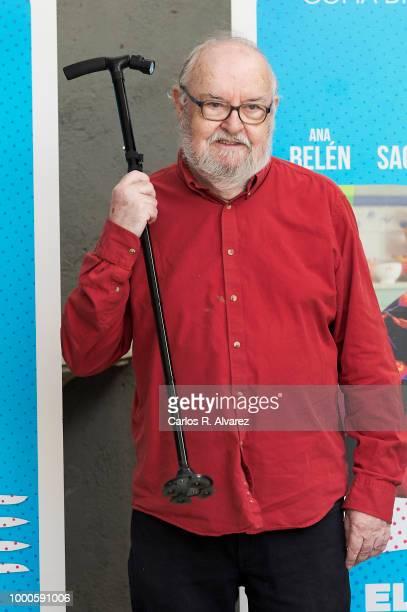 Director Jose Luis Garcia Sanchez attends 'El Vuelo de La Paloma' 30th anniversary at Academia de Cine on July 17 2018 in Madrid Spain