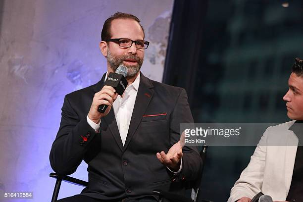 Director Joseph Castelo attends AOL Build Speaker Series to discuss The Preppie Connection at AOL Studios In New York on March 18 2016 in New York...