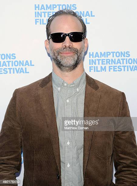 Director Joseph Castelo attends 'The Preppie Connection' photo call on Day 3 of the 23rd Annual Hamptons International Film Festival on October 10...