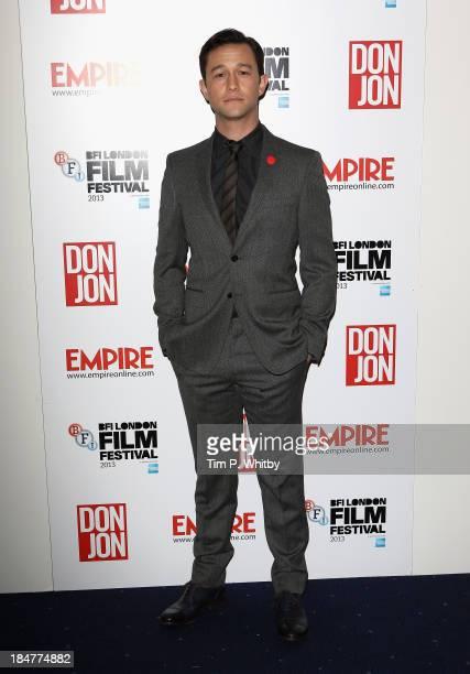 Director Joseph Gordon Levitt attends Don Jon screening during the 57th BFI London Film Festival at Odeon West End on October 16 2013 in London...