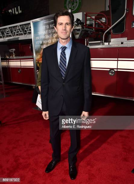Director Joseph Kosinski attends the premiere of Columbia Pictures' Only The Brave at the Regency Village Theatre on October 8 2017 in Westwood...