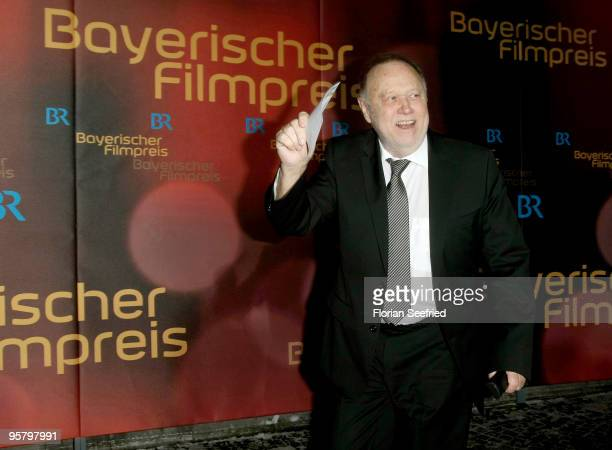 Director Joseph Vilsmaier attends the Bavarian Movie Award 2010 at the Prinzregententheater on January 15 2010 in Munich Germany