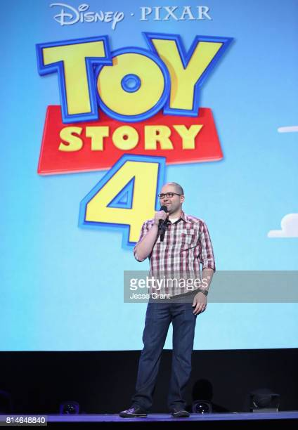 Director Josh Cooley of TOY STORY 4 took part today in the Walt Disney Studios animation presentation at Disney's D23 EXPO 2017 in Anaheim Calif TOY...