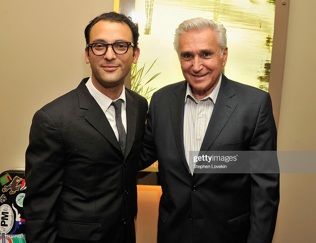 Director Josh Fox and former New York Congressman Maurice Hinchey attend The HBO Special Screening Of 'Gasland Part II' at HBO Theater on June 25, 2013 in New York City.