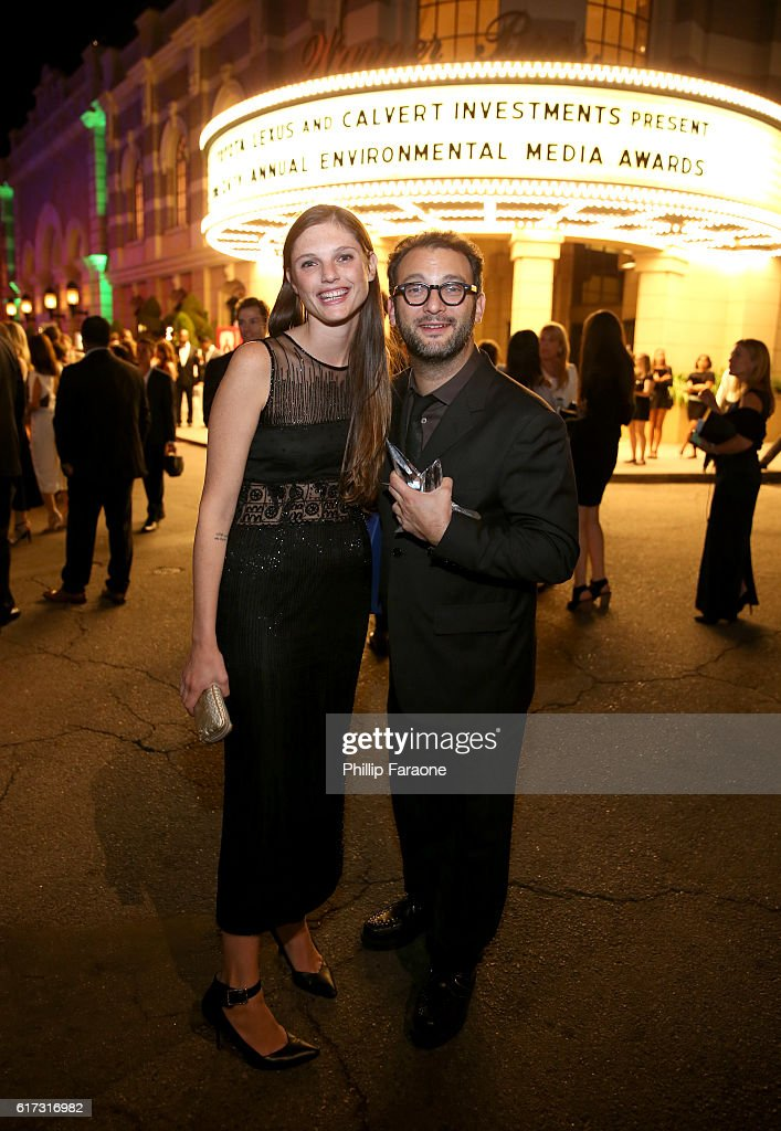 Director Josh Fox (R) attends the Environmental Media Association 26th Annual EMA Awards Presented By Toyota, Lexus And Calvert at Warner Bros. Studios on October 22, 2016 in Burbank, California.