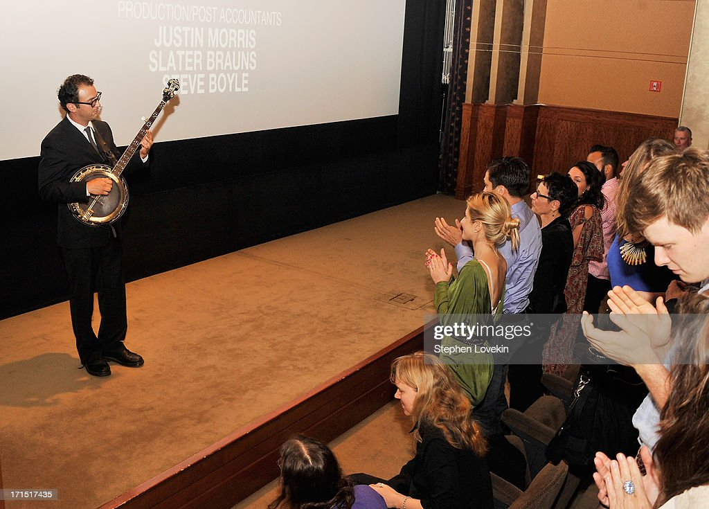 Director Josh Fox performs at The HBO Special Screening of 'Gasland Part II' at HBO Theater on June 25, 2013 in New York City.