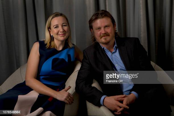 Director Josie Rourke and writer Beau Willimon are photographed for Los Angeles Times on November 16 2018 in Los Angeles California PUBLISHED IMAGE...