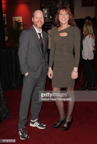 Director Joss Whedon and producer Kai Cole attend the Much Ado About Nothing premiere during the 2012 Toronto International Film Festival at The...