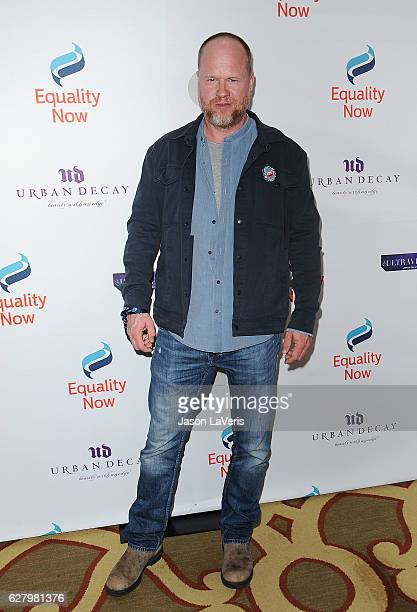 Director Joss Whedon attends Equality Now's 3rd annual 'Make Equality Reality' gala at Montage Beverly Hills on December 5 2016 in Beverly Hills...