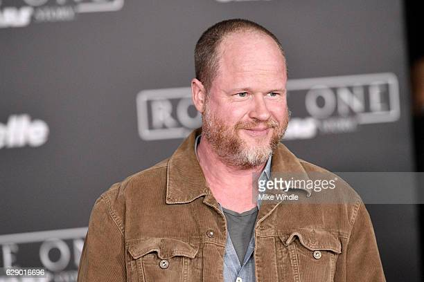 Director Joss Whedon attends the premiere of Walt Disney Pictures and Lucasfilm's Rogue One A Star Wars Story at the Pantages Theatre on December 10...