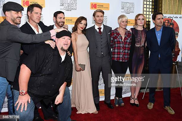 Director JT Mollner and actors Ben Browder, Keith Loneker, Nathan Russell, Francesca Eastwood, Chad Michael Murray, Teri Polo, Madisen Beaty and Luke...