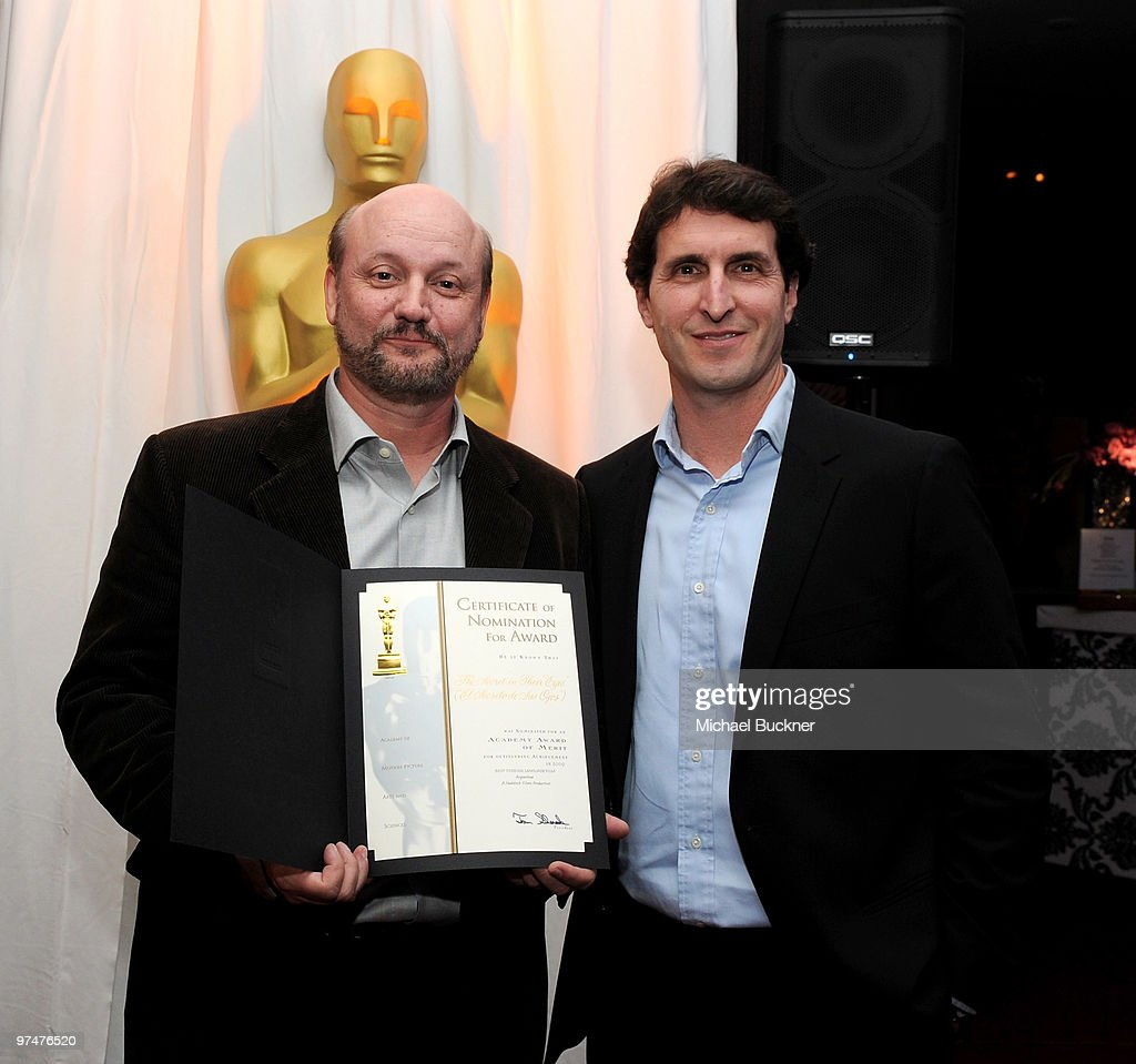 82nd Academy Awards Foreign Language Film Award Directors Reception