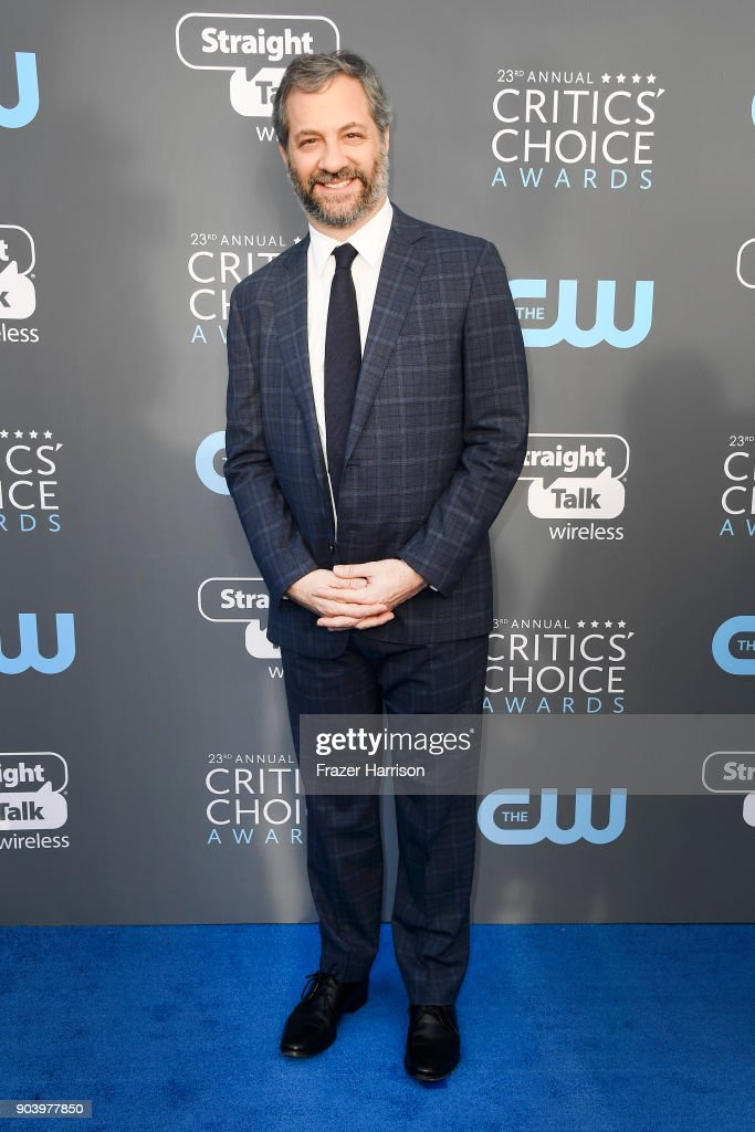 Director Judd Apatow attends The 23rd Annual Critics' Choice Awards at Barker Hangar on January 11, 2018 in Santa Monica, California.