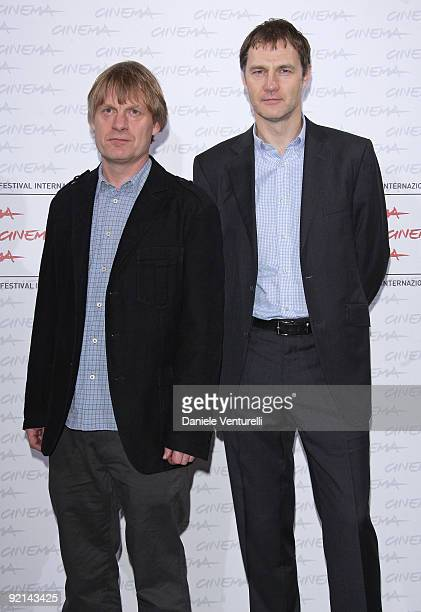 Director Julian Jarold and actor David Morrissey attends the Red Riding Trilogy Photocall during Day 7 of the 4th International Rome Film Festival...