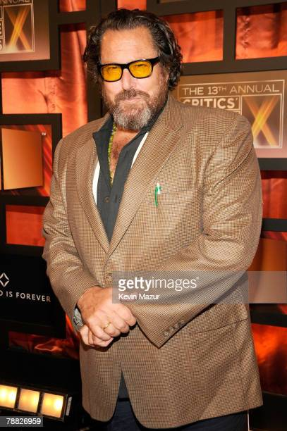 Director Julian Schnabel arrives at the 13th ANNUAL CRITICS' CHOICE AWARDS at the Santa Monica Civic Auditorium on January 7, 2008 in Santa Monica,...