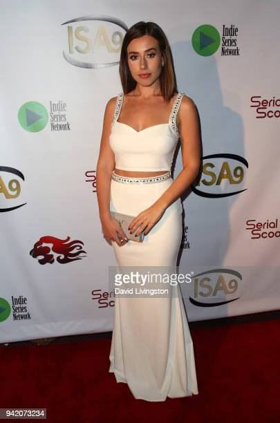 Director Juliana Carpino attends the 9th Annual Indie Series Awards at The Colony Theatre on April 4 2018 in Burbank California