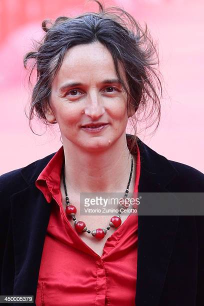 Director Julie Bertuccelli attends the 'La Cour De Babel' Premiere during The 8th Rome Film Festival at Auditorium Parco Della Musica on November 16...