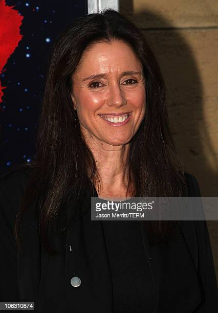 Director Julie Taymor arrives for a special screening of 'Across The Universe' at the El Capitan Theatre on September 18 2007 in Hollywood California