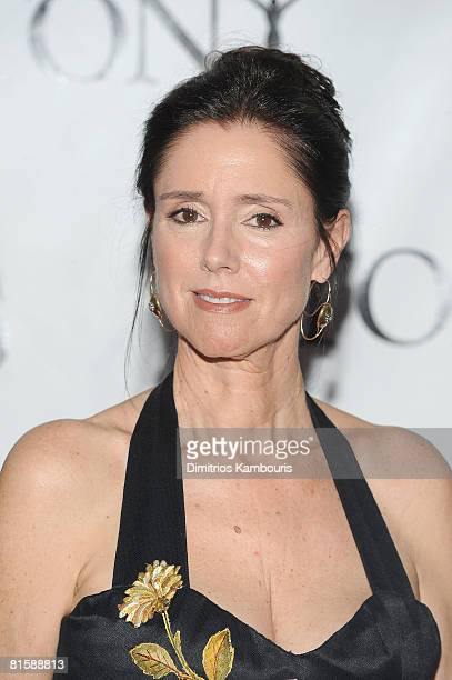Director Julie Taymor attends the 62nd Annual Tony Awards at Radio City Music Hall on June 15 2008 in New York City
