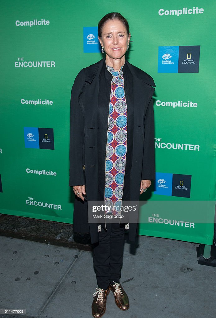 """The Encounter"" Opening Night - Arrivals & Curtain Call"