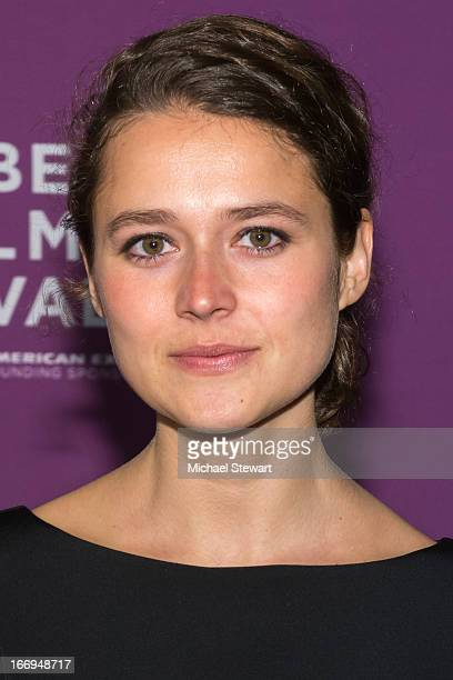 Director Juliette Eisner attends the screening of Lil Bub Friendz during the 2013 Tribeca Film Festival at SVA Theater 1 on April 18 2013 in New York...