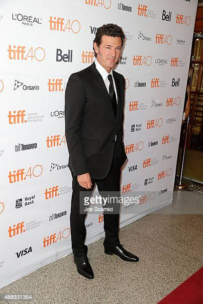 Director Julio Medem attends the premier of 'Ma Ma' during the 2015 Toronto International Film Festival at The Elgin on September 15 2015 in Toronto...