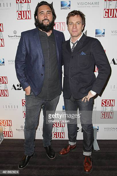 """Director Julius Avery and actor Ewan McGregor attend the """"Son of A Gun"""" screening at The London West Hollywood on January 20, 2015 in West Hollywood,..."""