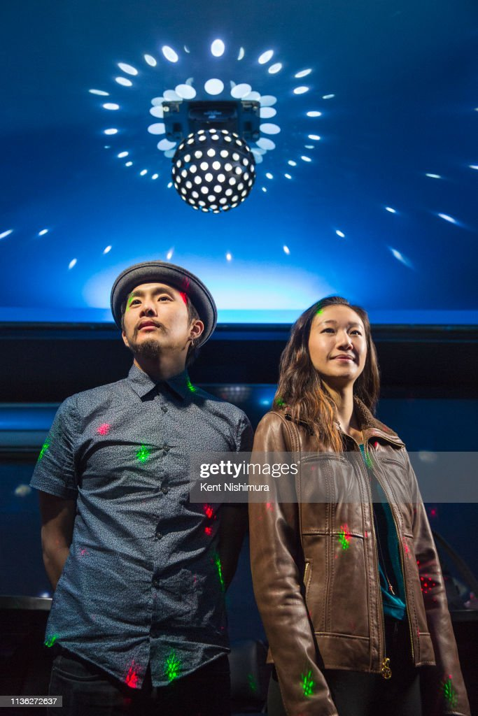 Justin Chon and Tiffany Chu, Los Angeles Times, January 26, 2019 : Foto jornalística