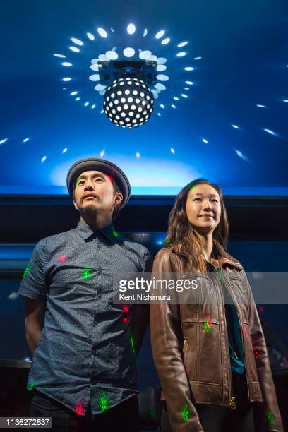 Director Justin Chon and actress Tiffany Chu are photographed for Los Angeles Times on January 18 2019 in Los Angeles California PUBLISHED IMAGE...
