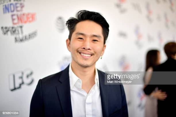Director Justin Chon attends the 2018 Film Independent Spirit Awards on March 3 2018 in Santa Monica California