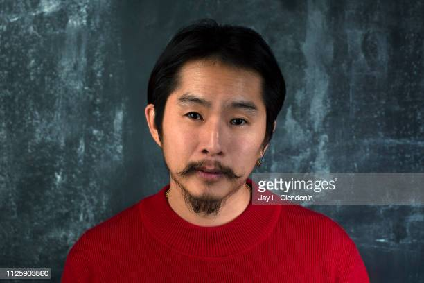 Director Justin Chon from 'Ms Purple' is photographed for Los Angeles Times on January 25 2019 at the 2019 Sundance Film Festival in Salt Lake City...