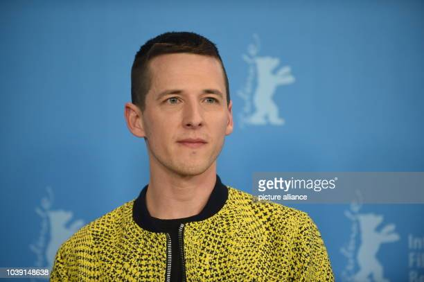 Director Justin Kelly poses during a photocall for 'I am Michael' at the 65th International Film Festival in Berlin Germany 09 February 2015 The film...