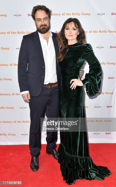 "Director Justin Kurzel and Actress Essie Davis arrive at ""The True History Of The Kelly Gang"" World Premiere Party Hosted By Grolsch at Weslodge,..."