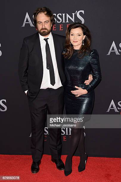 "Director Justin Kurzell and Essie Davis attend the ""Assassin's Creed"" New York Premiere at AMC Empire 25 theater on December 13, 2016 in New York..."
