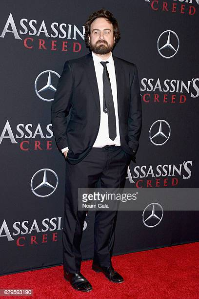 Director Justin Kurzell attends the 'Assassin's Creed' New York Premiere at AMC Empire 25 theater on December 13 2016 in New York City