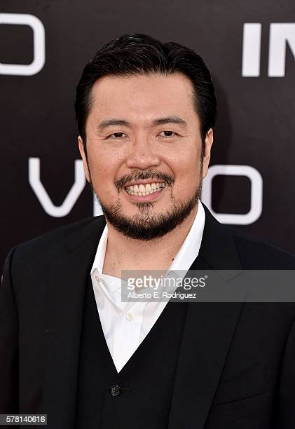 Director Justin Lin attends the premiere of Paramount Pictures' 'Star Trek Beyond' at Embarcadero Marina Park South on July 20 2016 in San Diego...