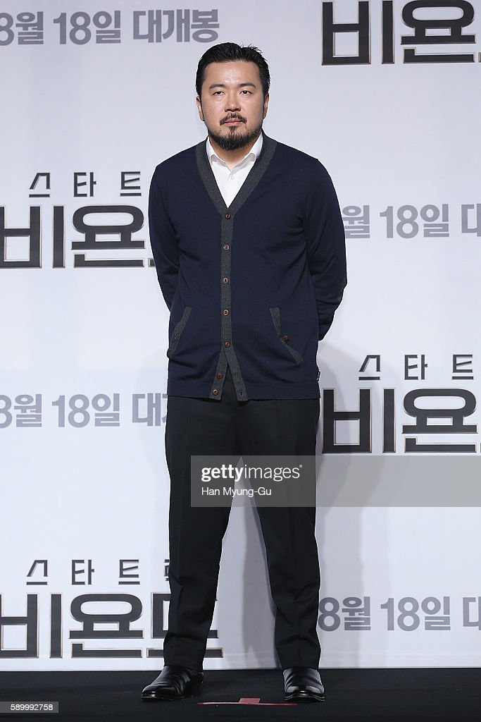 Director Justin Lin attends the Press Conference and Photocall in advance of the Fan Screening of the Paramount Pictures title 'Star Trek Beyond,' on August 16, 2016 at Grand Intercontinental Hotel in Seoul, South Korea.