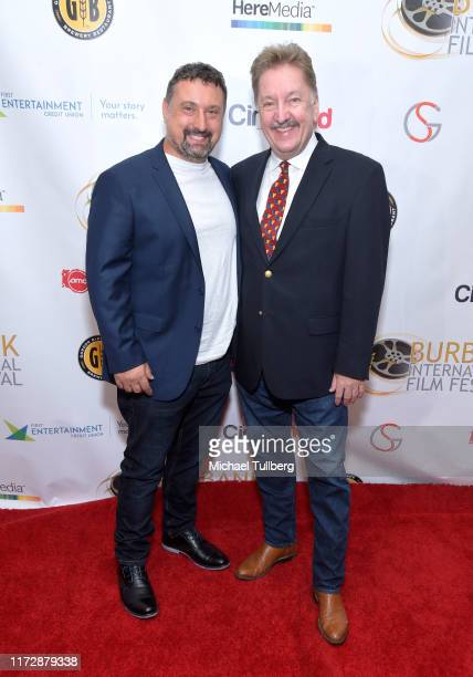 "Director Justin Ward and producer Brad Wilson attend the premiere of ""Relish"" at the Burbank International Film Festival at AMC Burbank 16 on..."