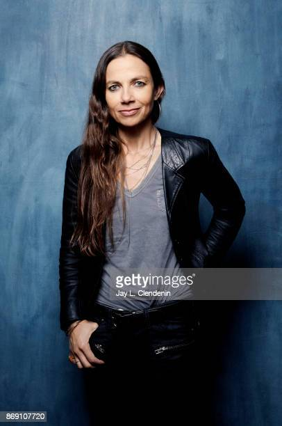 Director Justine Bateman from the film Five Minutes poses for a portrait at the 2017 Toronto International Film Festival for Los Angeles Times on...