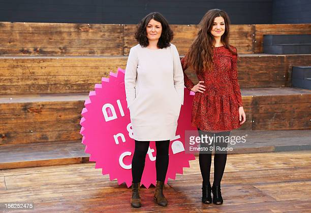 Director Justine Malle and actress Esther Garrel attend the 'Jeunesse' Photocall during the 7th Rome Film Festival at the Auditorium Parco Della...