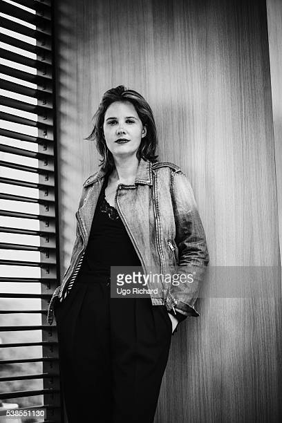 Director Justine Triet is photographed for Gala on May 15 2016 in Cannes France