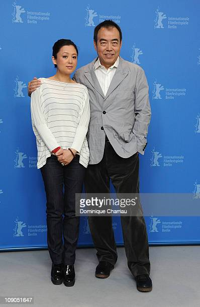 Director Kaige Chen and producer Hong Chen attend the 'Zhao Shi Gu Er' Photocall during day four of the 61st Berlin International Film Festival at...