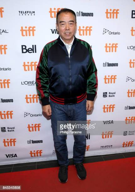 """Director Kaige Chen attends """"The Deuce"""" and """"The Legend Of The Demon Cat"""" premieres during 2017 Toronto International Film Festival at TIFF Bell..."""