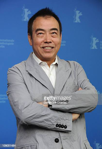 Director Kaige Chen attends the 'Zhao Shi Gu Er' Photocall during day four of the 61st Berlin International Film Festival at the Grand Hyatt on...