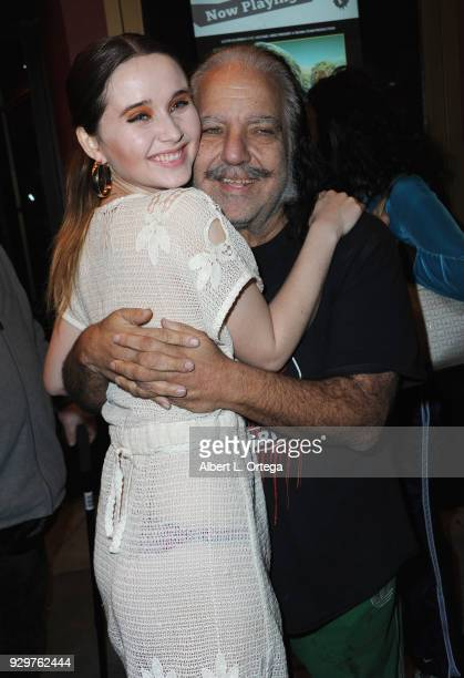 Director Kansas Bowling and Ron Jeremy at the Film Opening of 'Return to Return to Nuke 'Em High Aka Vol 2 ' held at Laemmle's Ahrya Fine Arts...