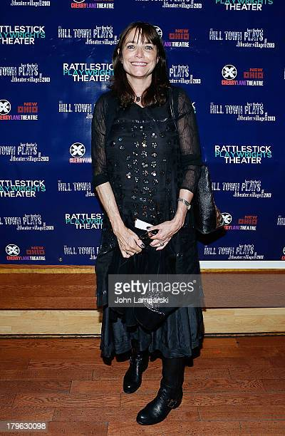 Director Karen Allen attends the The Hill Town Plays Opening Night After Party at Sullivan Hall on September 5 2013 in New York City