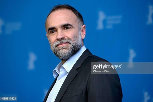 Director Karim Ainouz attends the 'Praia do futuro' photocall during 64th Berlinale International Film Festival at Grand Hyatt Hotel on February 11...